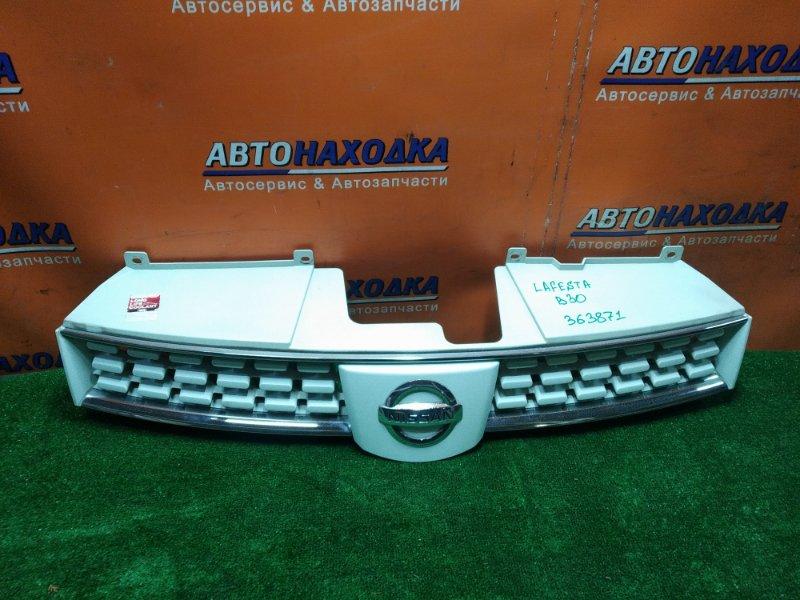 Решетка радиатора Nissan Lafesta B30 MR20DE 62310EN001 1MOD.