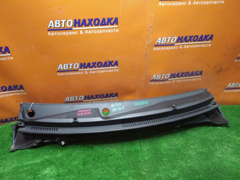 Решетка под лобовое стекло Suzuki Alto HA36S R06A передняя 72331-74P0 + БОКОВЫЕ ЗАГЛУШКИ
