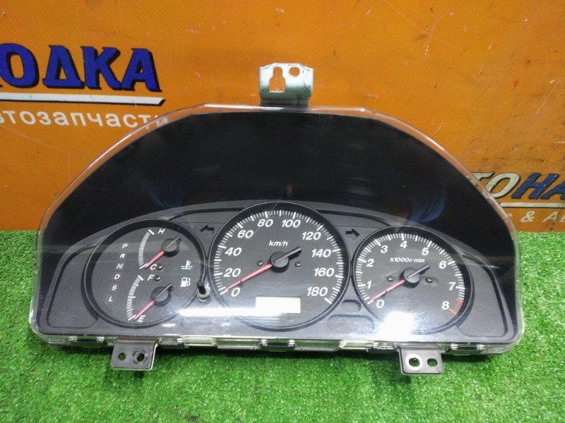 Щиток приборов Mazda Familia BJ5W ZL-VE 03.02.2000 P27C СТАХОМЕТРОМ