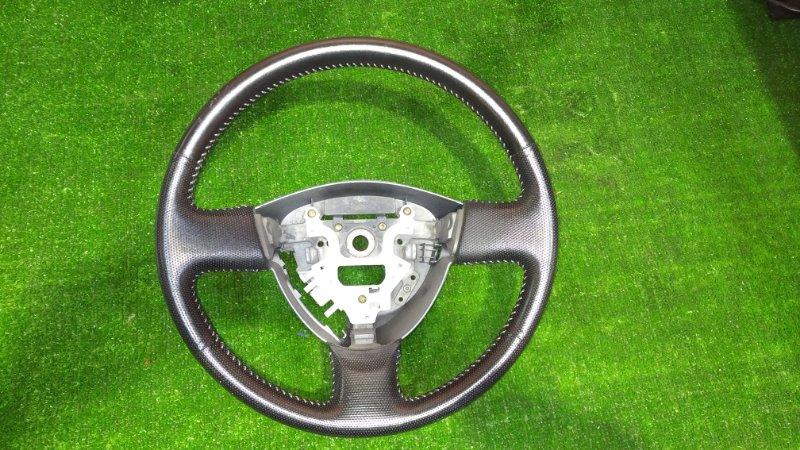 Руль Honda Fit GD1 L13A 2001 кожаный 1мод