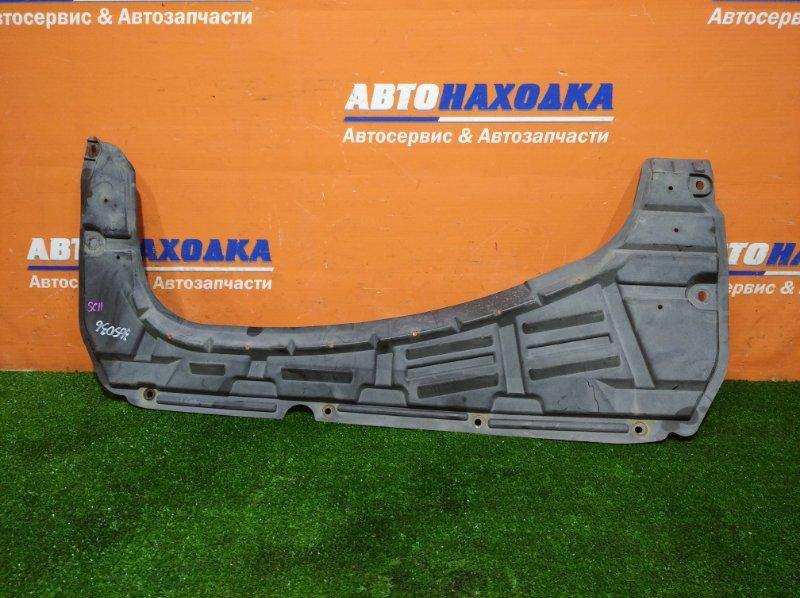 Защита двс Nissan Tiida Latio SC11 HR15DE 2004 передняя
