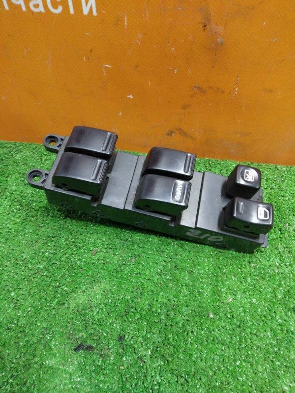 Блок управления стеклоподъемниками Nissan Cube AZ10 CGA3DE 08.2002 передний правый СИНЯЯ ПЛАТА