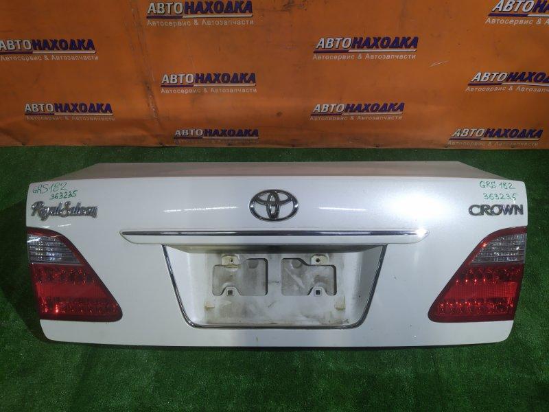 Крышка багажника Toyota Crown GRS182 3GR-FSE 30-337 В СБОРЕ . ХТС. +ФОНАРИ 30-337