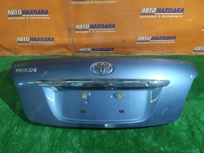 Крышка багажника Toyota Belta KSP92 1KR-FE +КАМЕРА