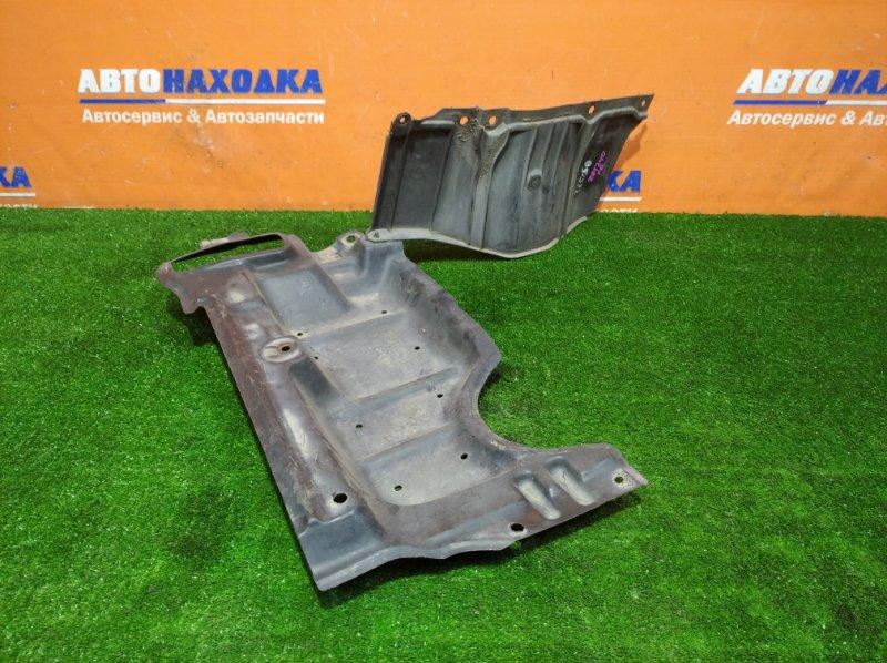 Защита двс Toyota Premio ZZT240 1ZZ-FE 2001 передняя правая из 2х частей