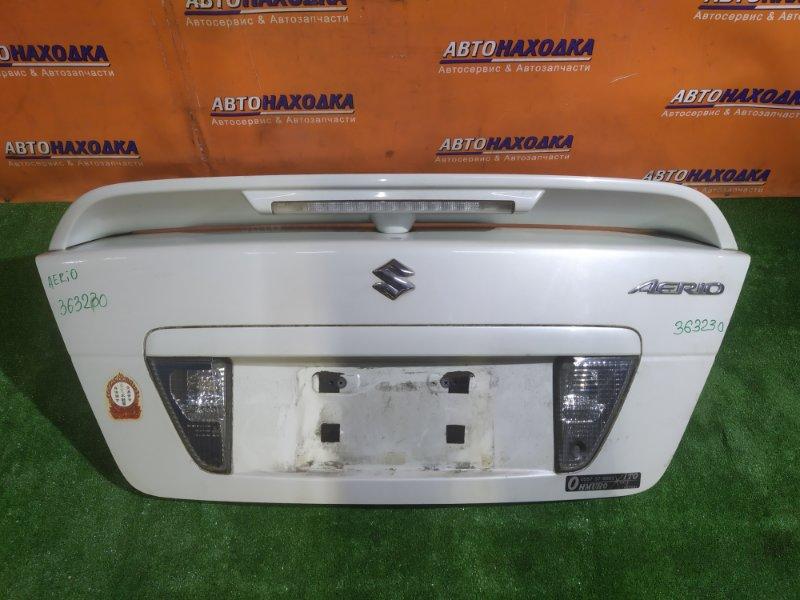 Крышка багажника Suzuki Aerio RC51S M18A 03.2005 +СПОЙЛЕР. +ФОНАРИ ЗАДНЕГО ХОДА