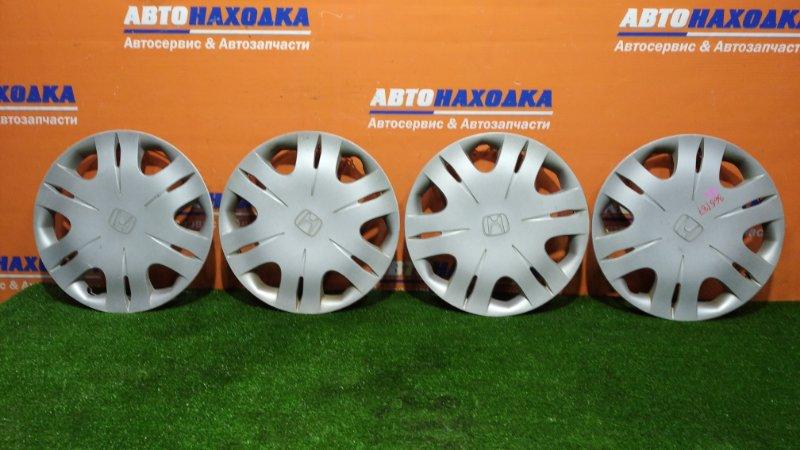Колпаки колесные Honda Fit GE6 L13A 2007 комплект 4шт R15