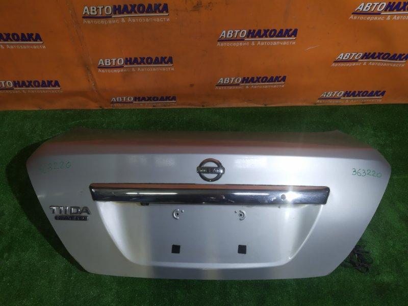 Крышка багажника Nissan Tiida Latio C11 HR15DE СЕДАН. +КАМЕРА