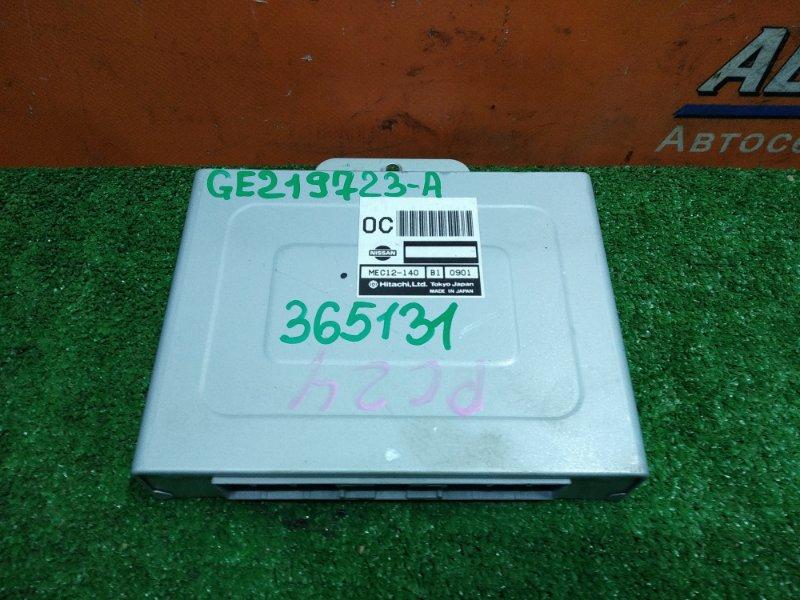 Компьютер Nissan Serena PC24 SR20DE 09.2000 MEC12-140 НОМЕР С ПЛАТЫ GE219723-A