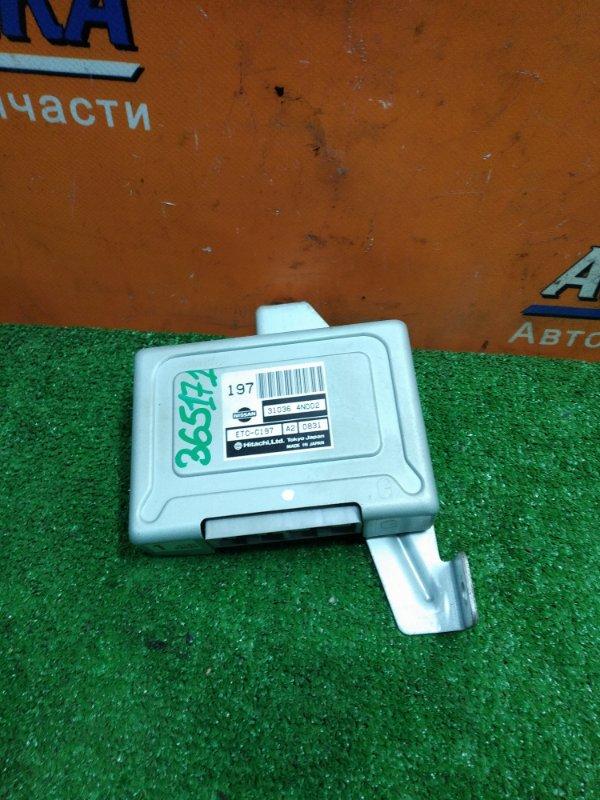 Компьютер Nissan Serena PC24 SR20DE 09.2000 31036-4N002 УПРАВЛЕНИЕ АКПП.