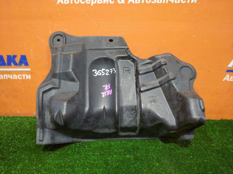 Защита двс Nissan March AK12 CR12DE 2002 передняя правая боковая