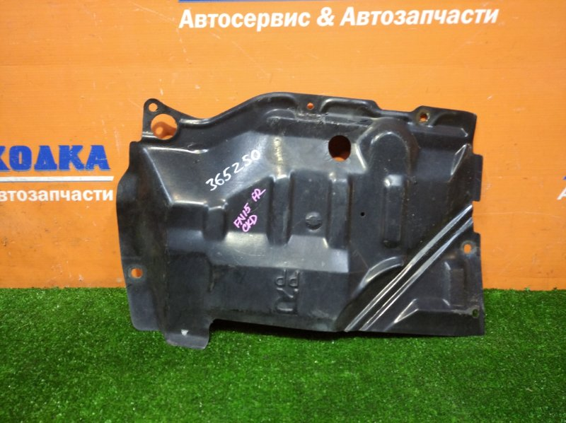 Защита двс Nissan Pulsar FN15 GA15DE 1995 передняя правая нижняя