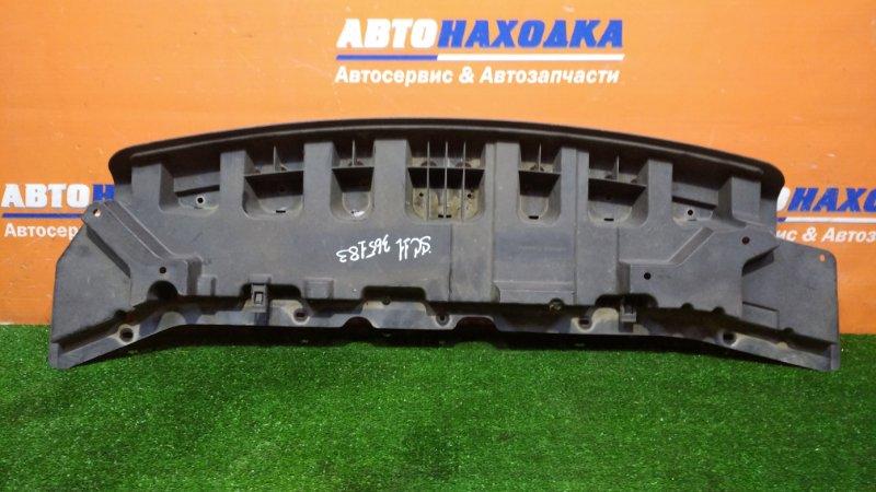 Защита бампера Nissan Tiida Latio SC11 HR15DE 2004 передняя ЖЕСТКАЯ/ПЕРЕДНЯЯ 1мод