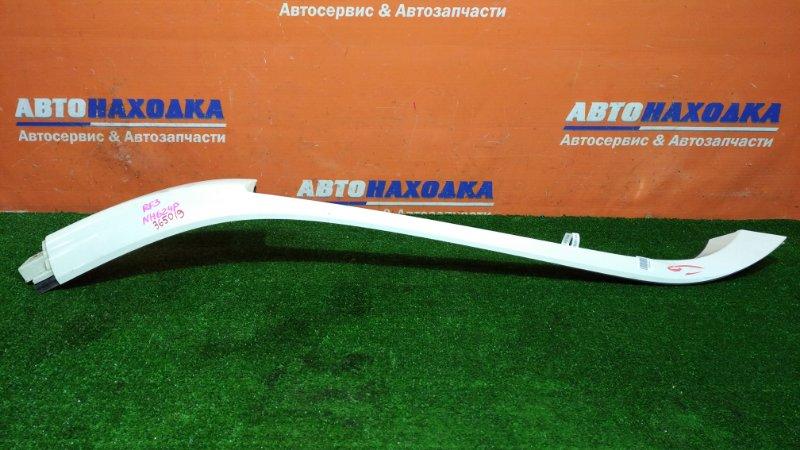 Молдинг лобового стекла Honda Stepwgn RF3 K20A 2001 передний правый цвет NH624P на лобовое стекло