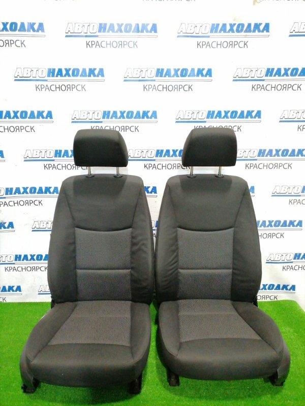 Сиденья Bmw 320I E90 N46B20 2005 передняя Передние пара, оба сидения в ХТС, черная 2-х
