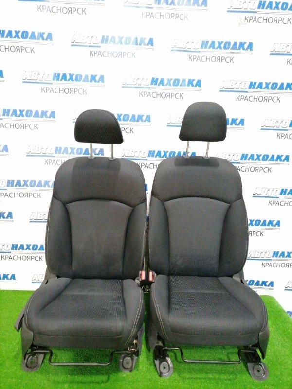 Сиденья Subaru Impreza GJ6 FB20 2011 передняя Передние пара, оба сидения в ХТС, черная 2-х