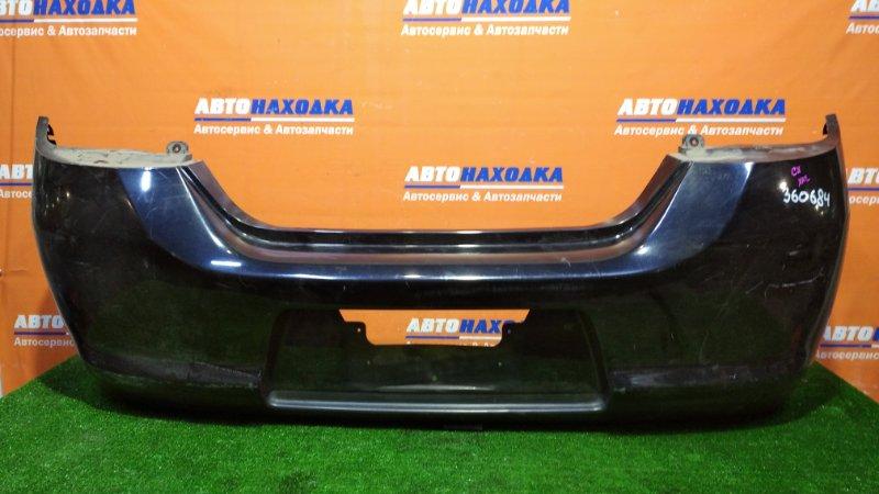Бампер Nissan Tiida C11 HR15DE 2008 задний хетчбек 2 мод под покраску