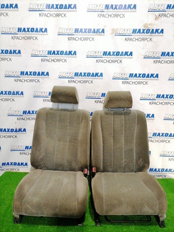 Сиденья Toyota Chaser GX100 1G-FE 1998 передняя передние пара, оба сидения в ХТС, 2-х цветный