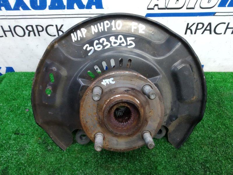 Ступица Toyota Aqua NHP10 1NZ-FXE 2011 передняя правая ХТС, передняя правая, без диска и суппорта,