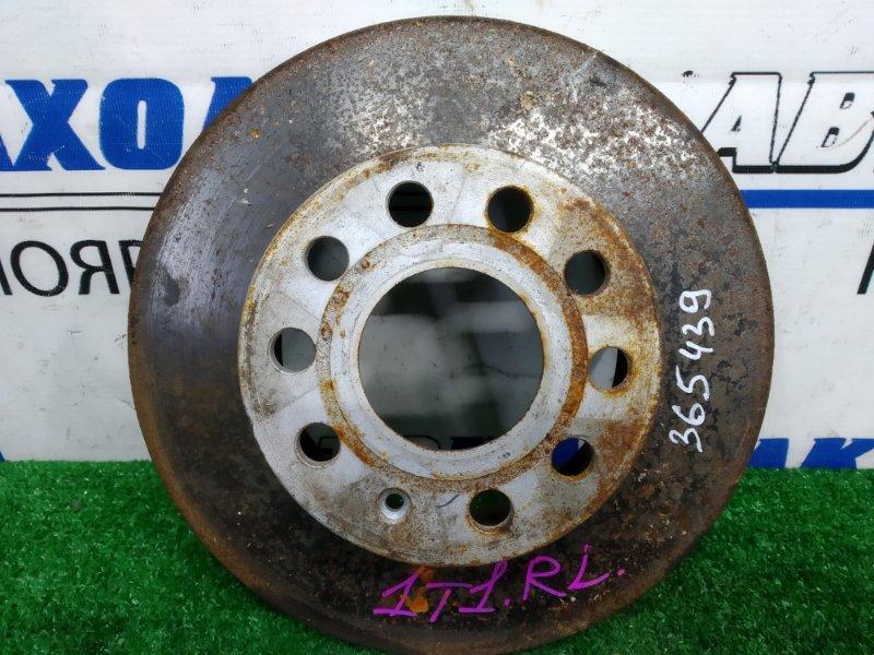 Диск тормозной Volkswagen Touran 1T1 BLR 2003 задний задний, невентилируемый, диаметр 260мм,