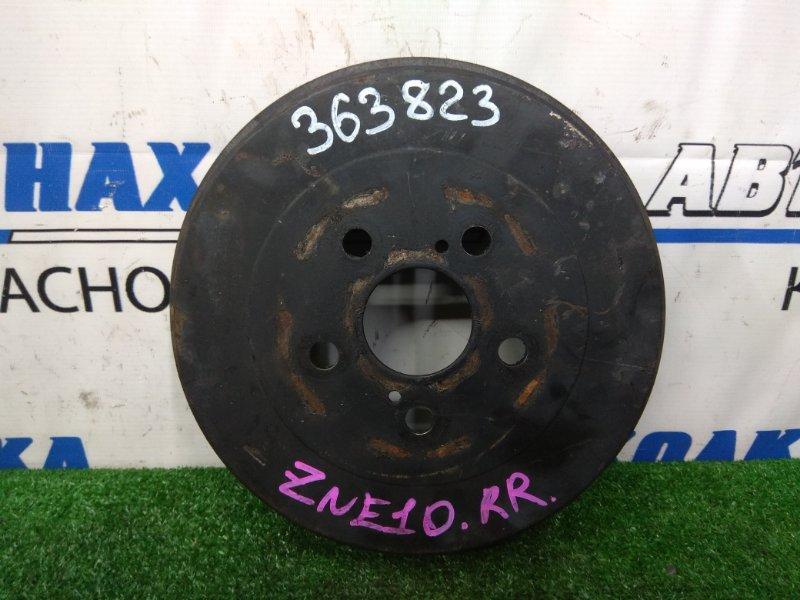 Барабан тормозной Toyota Wish ZNE10G 1ZZ-FE 2005 задний задний, пробег 47 т.км.,