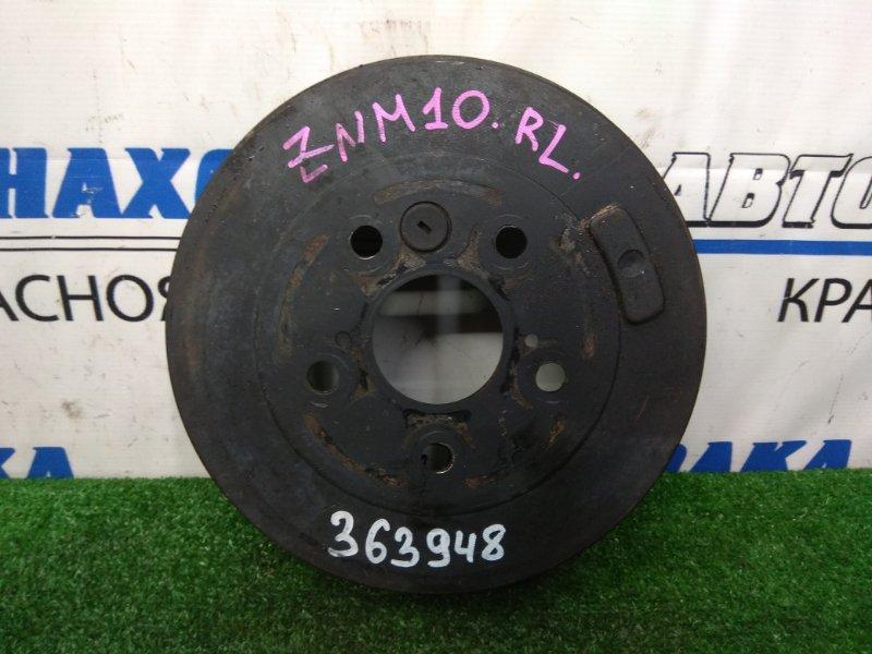 Барабан тормозной Toyota Isis ZNM10G 1ZZ-FE 2007 задний пробег 33 т.км.