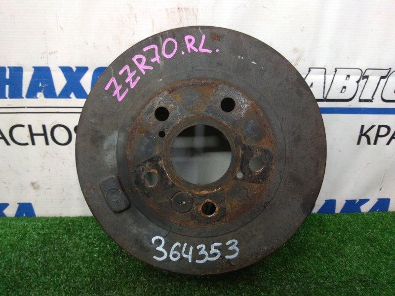 Барабан тормозной Toyota Voxy ZRR70G 3ZR-FE 2007 задний