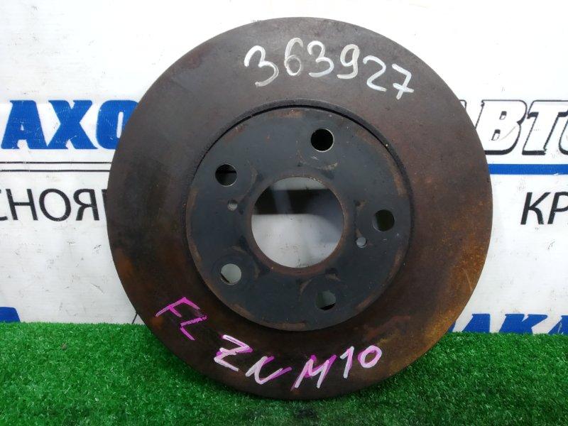 Диск тормозной Toyota Isis ZNM10G 1ZZ-FE 2007 передний передний, 275 мм, пробег 33 т.км.