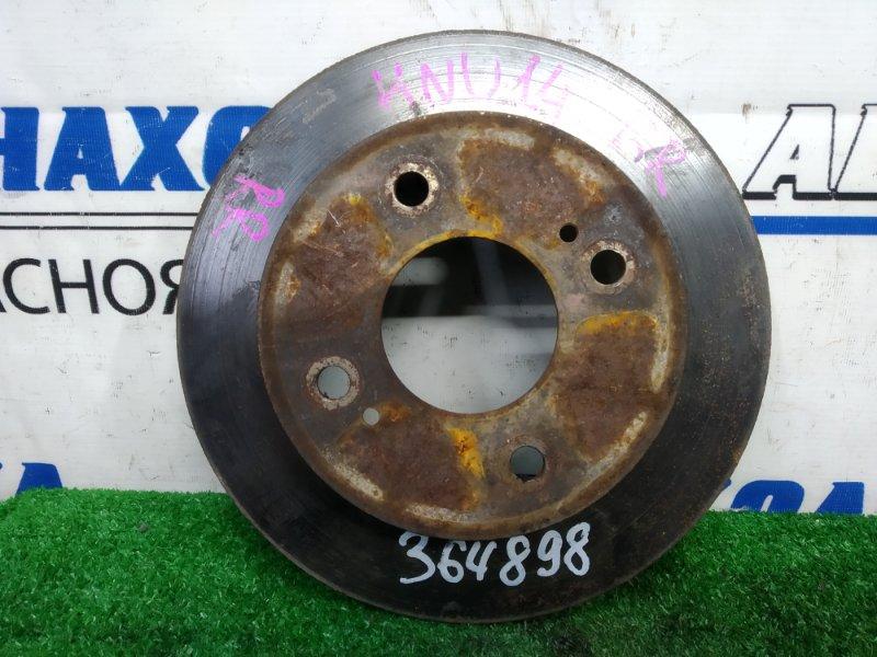 Диск тормозной Nissan Bluebird HNU14 SR20DE 1996 задний задний, невентилируемый, 258 мм