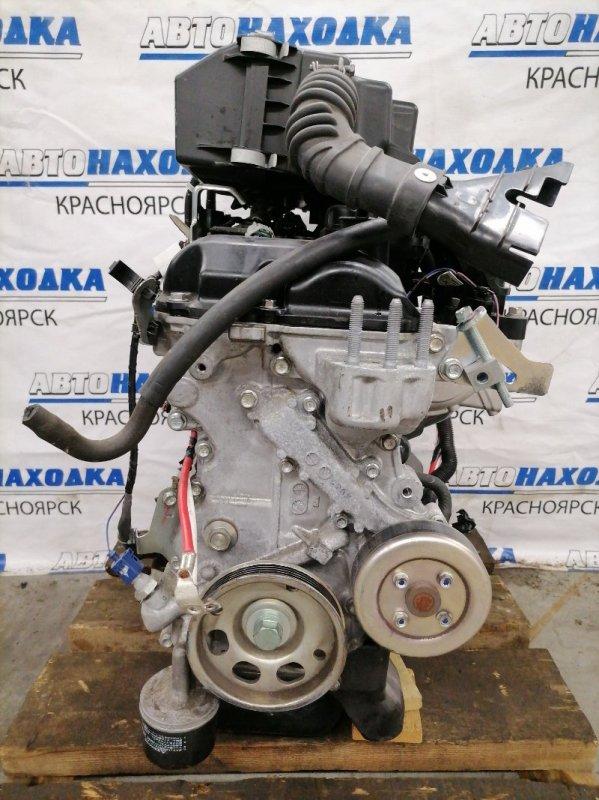 Двигатель Nissan Dayz Roox B21A 3B20 2014 LY2103 № LY2103, пробег 19 т.км. Без навесного. На ДВС есть