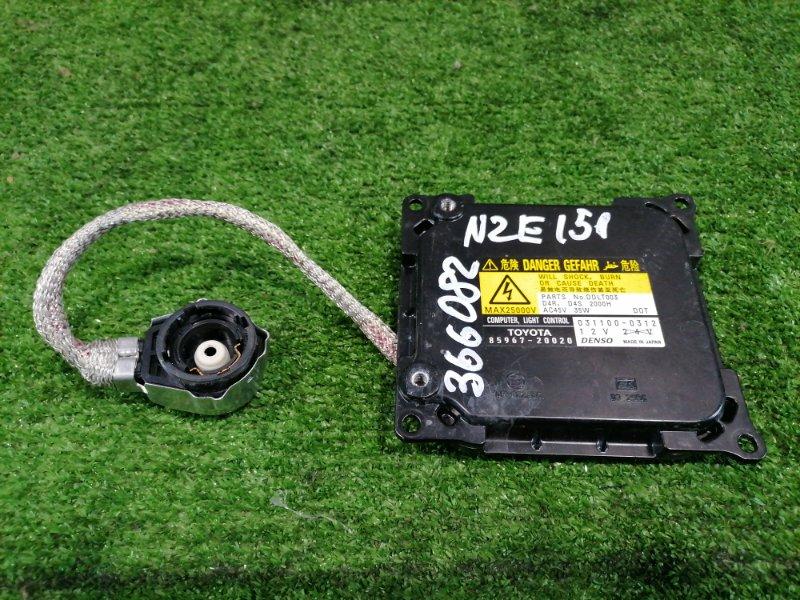 Блок розжига ксенона Toyota Corolla Rumion NZE151N 1NZ-FE 2007 031100-0312 D4R/D4S 35W