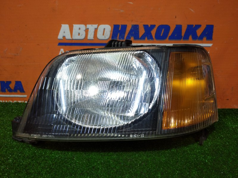 Фара Honda S-Mx RH1 B20B 1996 левая 033-7621 L 1 мод оранжевый поворот
