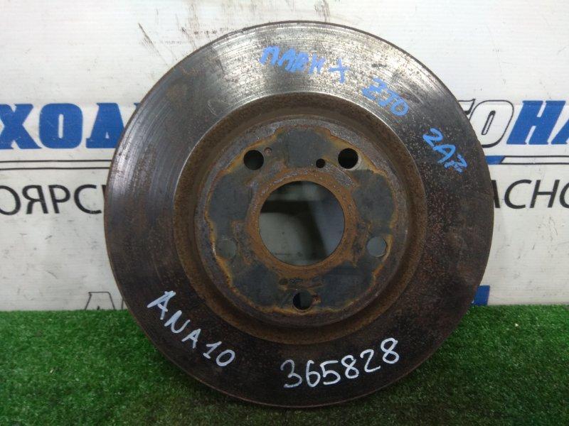Диск тормозной Toyota Mark X Zio ANA10 2AZ-FE 2007 передний передний, 296 мм