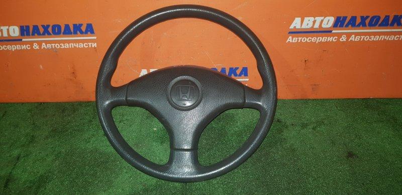 Руль Honda Partner EY7 D15B 1996 3 спицы без airbaga
