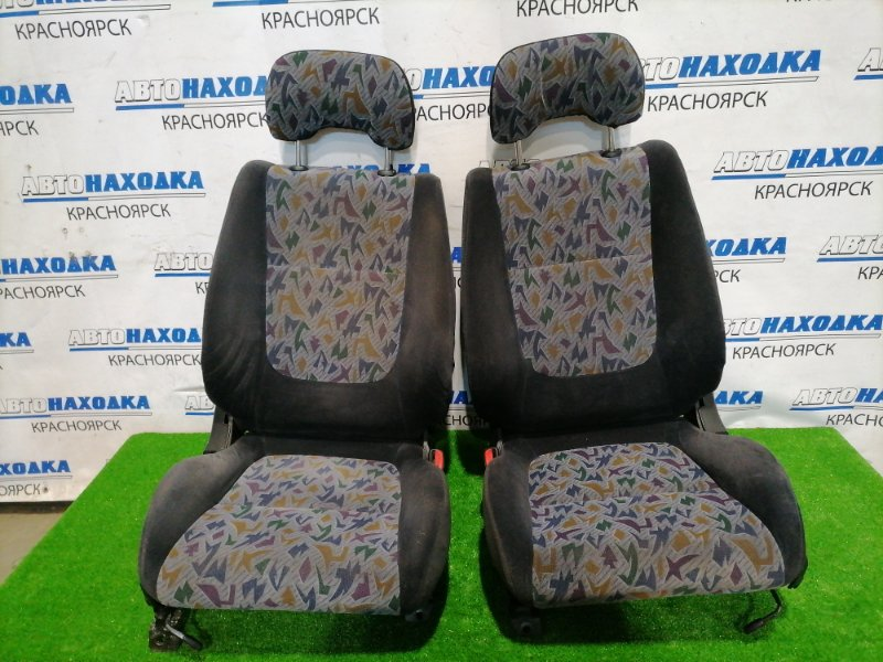 Сиденья Nissan Pulsar FN15 GA15DE 1996 передняя Передние пара (универсал), оба сидения в ХТС,