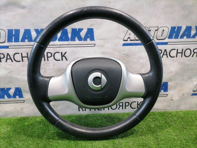Airbag Smart Fortwo C451.330 M132E10 2006 водительский с рулем, без подушки и заряда, кожа. Есть