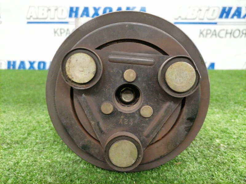 Компрессор кондиционера Mazda Atenza GG3S L3-VE 2002 Пробег 84 т.км.