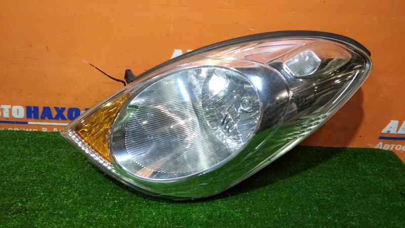 Фара Nissan Note E11 HR15DE 2008 левая 1758 2 мод Xenon ОТС +блок розжига/без лампы