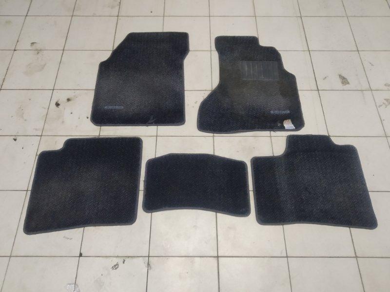 Коврик Nissan Bluebird HNU14 SR20DE 1996 комплект 5 штук, черные
