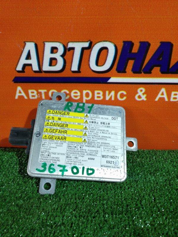 Блок розжига ксенона Honda Odyssey RB1 K24A W3T16571 D2R, D2S,