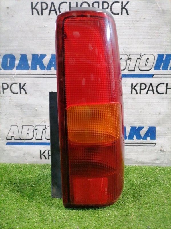 Фонарь задний Suzuki Jimny JB23W K6A 1998 задний правый 220-32081 Правый, 220-32081, есть потертости под