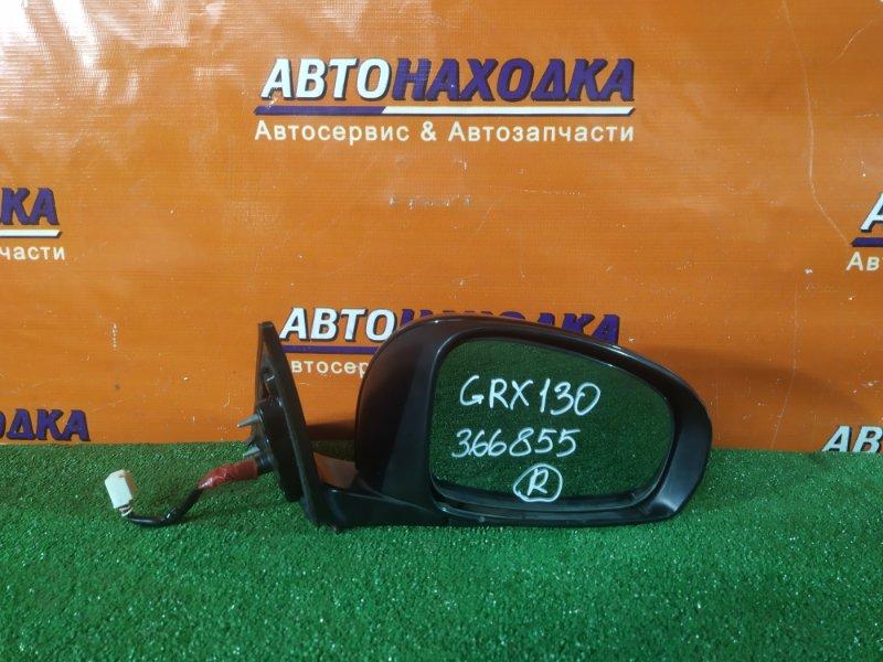 Зеркало Toyota Mark X GRX130 4GR-FSE переднее правое 7 КОНТАКТОВ, +ПОВТОРИТЕЛЬ 30-342