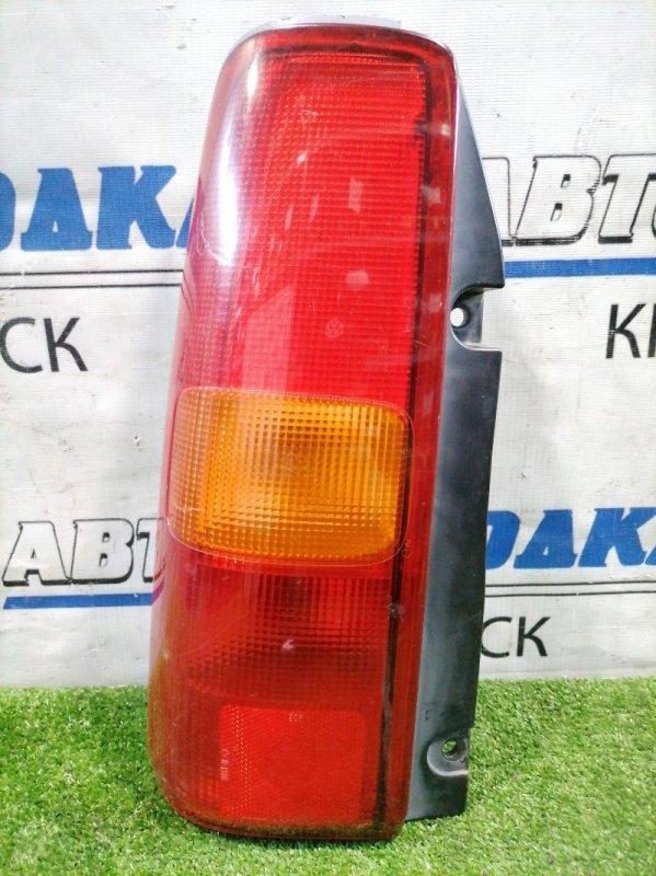 Фонарь задний Suzuki Jimny JB23W K6A 1998 задний левый 220-32081 Левый, 220-32081, есть потертости