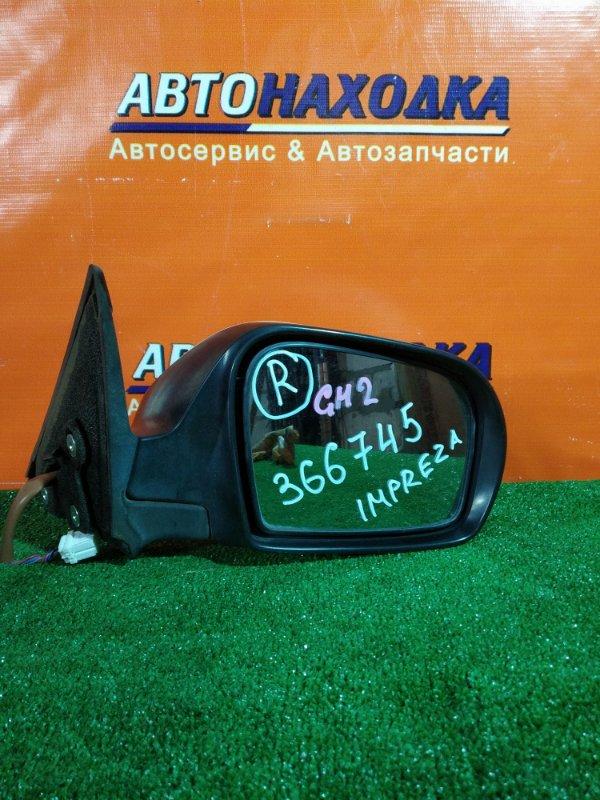 Зеркало Subaru Impreza GH2 EL15 правое 5 КОНТАКТОВ