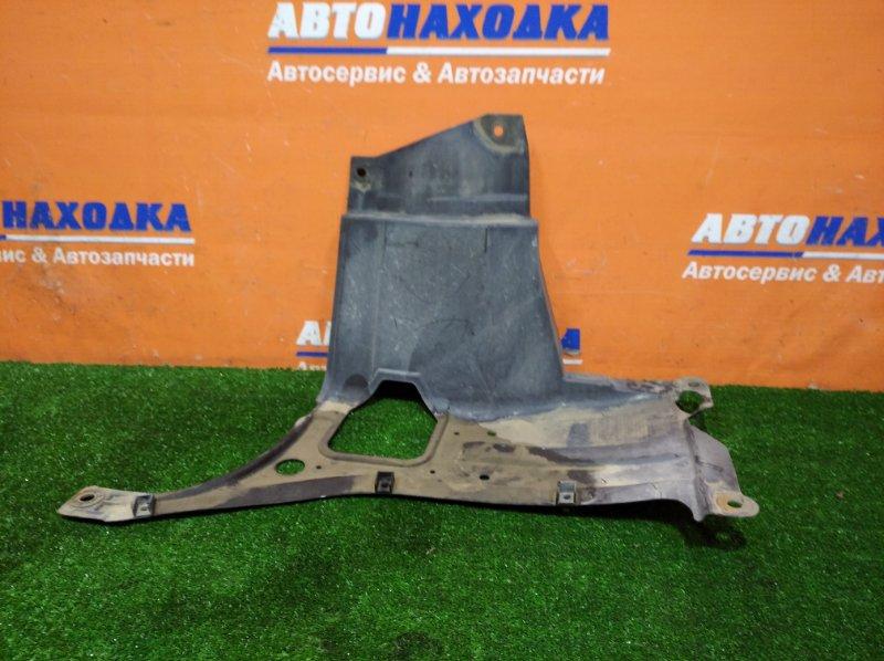 Защита двс Honda Fit GE6 L13A 2007 передняя левая