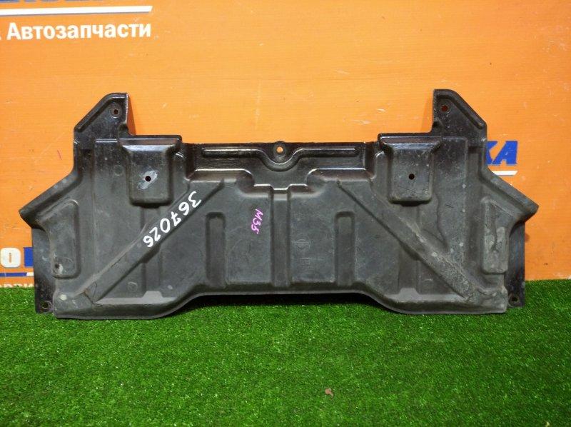 Защита Nissan Stagea M35 VQ25DD 2001 по центру под акпп