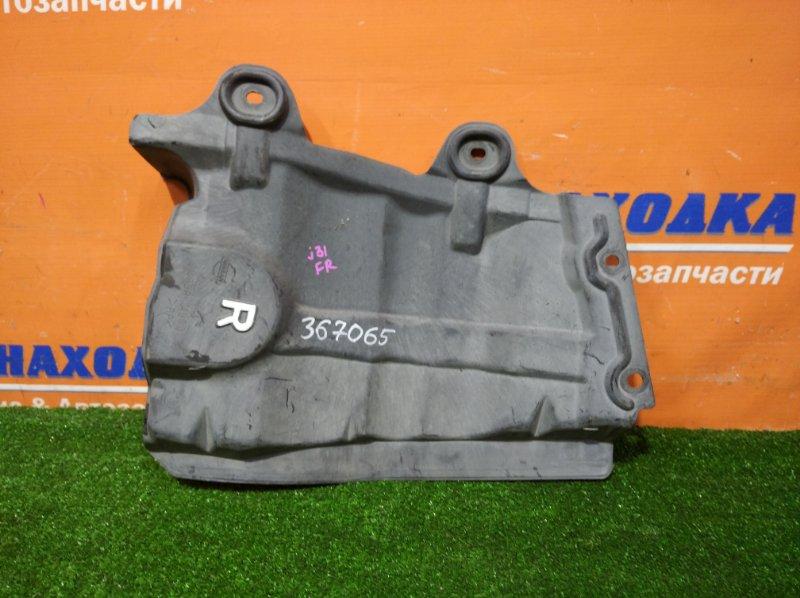 Защита Nissan Teana J31 VQ23DE 2003 передняя правая боковая