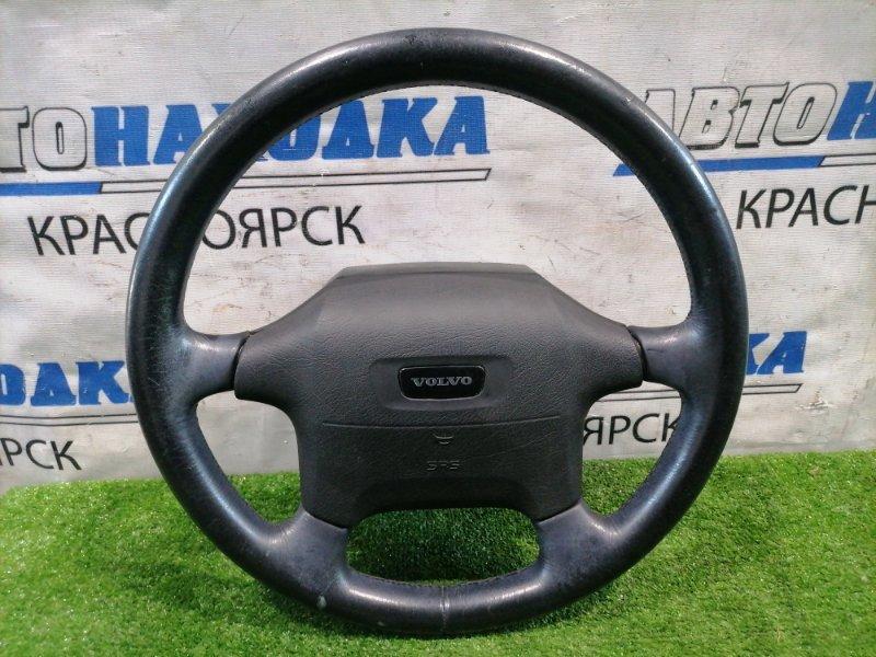 Airbag Volvo 850 LS55 B5254S 1991 Водительский, с рулём, без заряда, кожа. Есть потертости