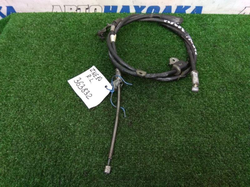 Трос ручника Toyota Wish ZNE10G 1ZZ-FE 2005 задний левый задний левый, пробег 47 т.км.,