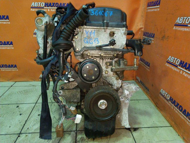 Двигатель Nissan Ad VY11 QG13DE 04.2002 275899 1MOD. МЕХ ДРОСЕЛЬ. БЕЗ EGR.